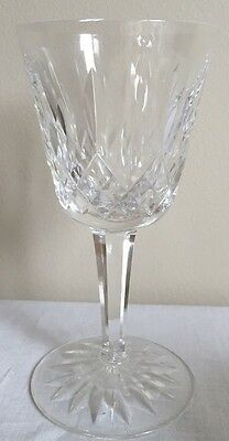 """Waterford Crystal Lismore Red Wine Claret 5 7/8""""  up to 6 available"""