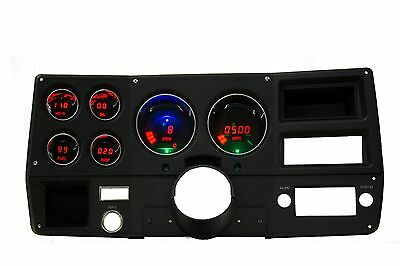 Chevy Truck DIGITAL DASH PANEL FOR 1973-1987 Gauges GMC Intellitronix RED LEDs!!