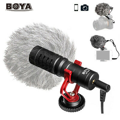 BOYA BY-MM1 3.5mm Microphone Metal Electret Condensor for Smartphone DSLR Camera