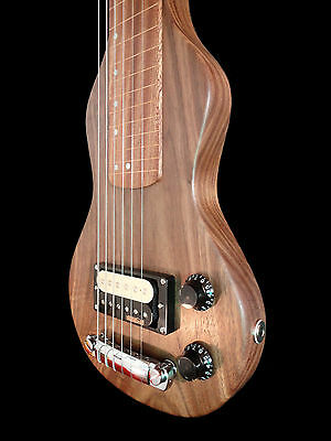 Custom Shop Hand Made Lap Steel Guitar by Rousseau Luthier! Free Ship in Canada!