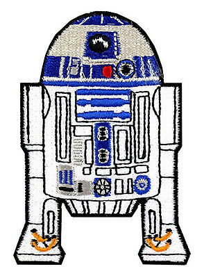 Star Wars R2D2 Full Iron-On Patch