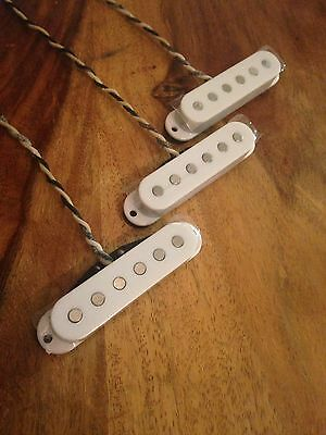 Handwound Pickup Set For Strat Vintage 50/60's
