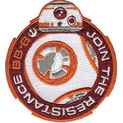 Star Wars BB-8 Join The Resistance Iron-On Patch