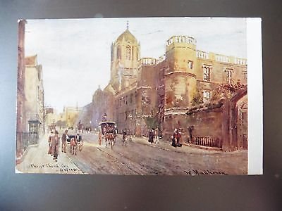 Vintage Postcard Christ Church Colledge Oxford