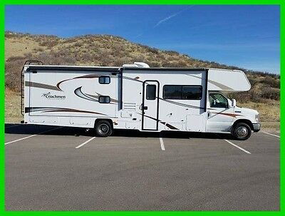 2014 Coachmen Freelander 32BH 32'6 Class C V10 Gas 2 Slides Sleeps 10 Generator