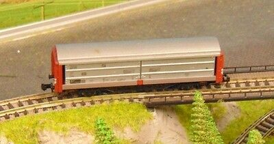"FLEISCHMANN 8335   DB sliding wall wagon.      ""BOXED"" N Gauge"