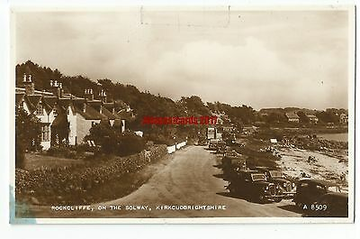 Scotland Rockcliffe on the Solway Real Photo Vintage Postcard 22.6