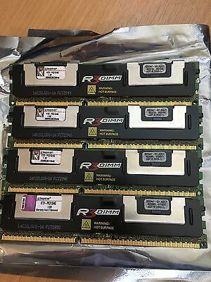 4 x 4GB Kingston 1333 MHz 240-Pin DDR3 ECC (KTD-PE313/4G) Memory