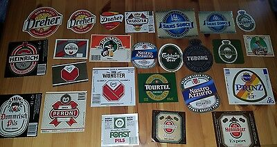 25 old beer labels italy - 25 etichette birra italia