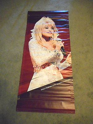 RARE!! Dolly Parton Grand Ole Opry Vinyl Poster Banner