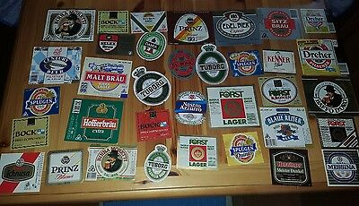 35 old beer labels italy - 35 etichette birra italia