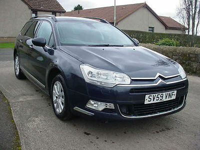 Citroen C5 1.6HDi VTR+ NAV ESTATE CAR 2009(59)