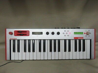 Alesis micron keyboard synthesizer synth red analog look