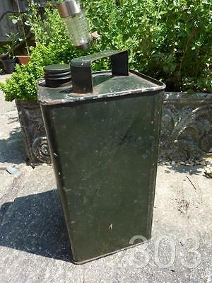 British Army Military Oil Can 1954 /| Vehicle AFV / Weapons