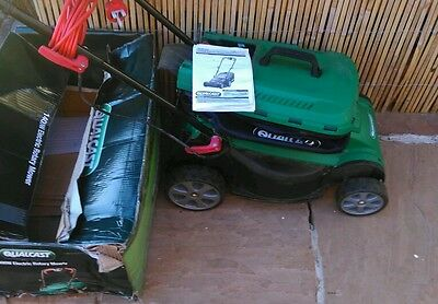 Qualcast 1400w electric rotary mower