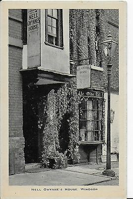 Lovely Early Vintage Postcard,nell Gwynne's House,windsor,berkshire