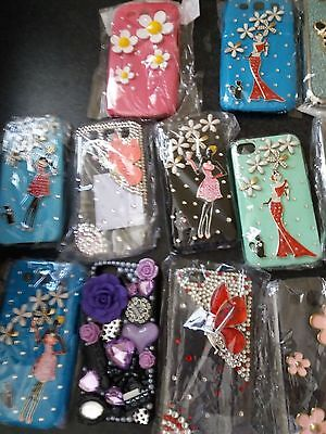 30 Job Lot Mobile Phone Hard Plastic Case/Cover for IPhone 4/5/6 & Samsung 3/