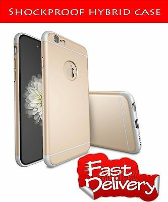 Luxury Shockproof Hard Back Case Cover for iPhone 6/6S GOLD60