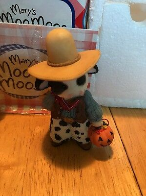 """Mary's Moo Moos """"Trick Or Treat Ma'am"""" Cowboy Box Included"""