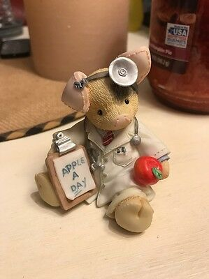 This Little Piggy An Apple A Day Keeps The Doctor Away 1995 Figurine