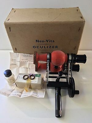 Vintage - Neu Vita Oculizer In Box - Rare - Please See Below