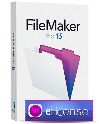 FileMaker Pro 15 Database Software (Windows)