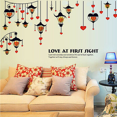 Cool Removable Wall Stickers Art Vinyl Quote Decal Mural Home Bedroom Decor