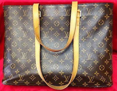 Used Genuine Louis Vuitton Monogram Luco Bag (Briefcase, Attache, Computer)