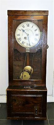 Vintage Gledhill Brook Clocking in Machine / Time Recorder