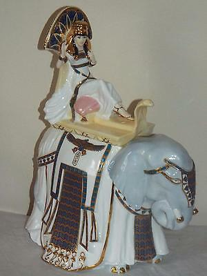 Royal Worcester Bone China Figurine CLEOPATRA QUEEN OF KINGS Golden Jubilee Ed
