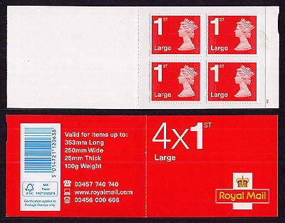 RB4c 4x1st LARGE RED CYLINDER W3 W1 pW2 BOOKLET MFIL MA15