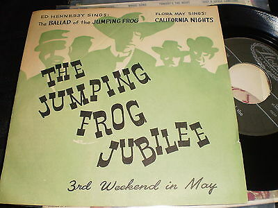 Ed Hennessy - Ballad Of The Jumping Frog - Us Ps 45