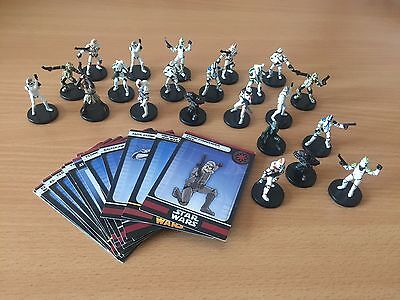 Star Wars Miniatures Clone Army + Heroes Imperial Assault RPG #10 - Fast Post