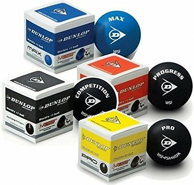 1x Mix Package Dunlop Squash Ballss
