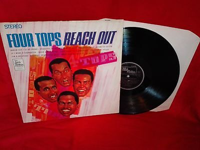 The Four Tops - 'Reach Out' Vinyl  Record