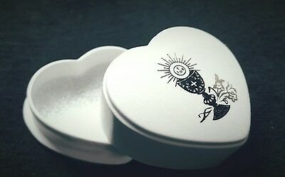 First Holy Communion Heart Gift Box for jewellery/ rosary
