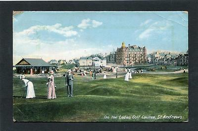 Golf - St Andrews Fife - Ladies Putting Club p/u 1910