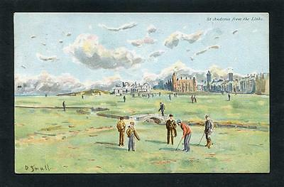 Golf - St Andrews Fife - The Old Course Artist D Small p/u 1905