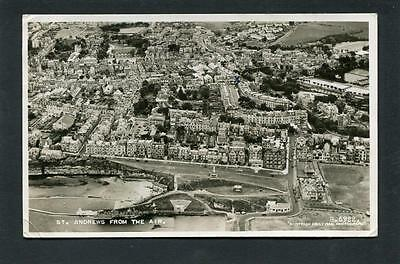 St Andrews Fife - Aerial View of Town inc R & A Golf Club House RP c1950