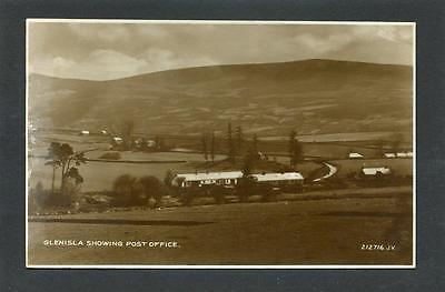 Alyth Perthshire - View of Glenisla showing Post Office c1930