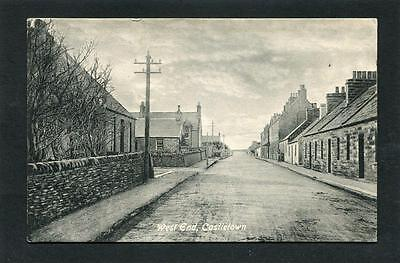 Wick & Thurso Caithness - West End Castletown p/u 1914