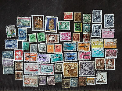 Gros Lot Anciens Timbres Poste 💚 Hongrie ❤️ Europe Oblitérés Old Magyar Stamps