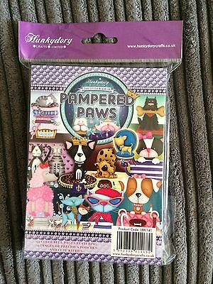 Hunkydory The Little Book Of Pampered Paws BNIP FULL PAD