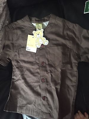 Boys Toddler 2-3 Years Shirt Ideal For Wedding / Summer Brand New