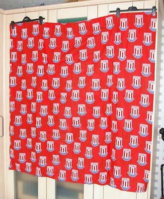 Stoke City Football Club Ready To Hang Curtains