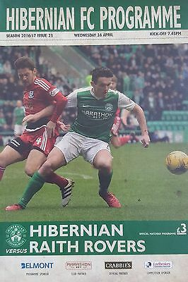 HIBERNIAN v RAITH ROVERS (26 April 2017) 2016/17