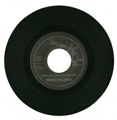 "Brenda Holloway -Just Look What You've Done /When I'm Gone 7""vinyl single 45(EX)"
