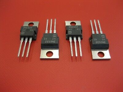 2N6532 8A 100V POWER TRANSISTORS NPN TO-220 PACKAGE ***NEW*** ( Qty 10 )