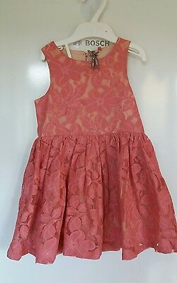 Next girls summer holiday party floral dress 3 years good condition