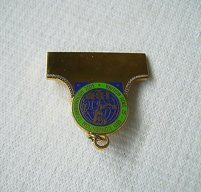 IBM International Brotherhood of Magicians Convention Badge Scarborough 2001